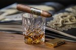 la-flor-dominicana-andalusian-bull-cigar-review-lfd-whiskey-bourbon-glass-st-dupont-lighter-80...jpg